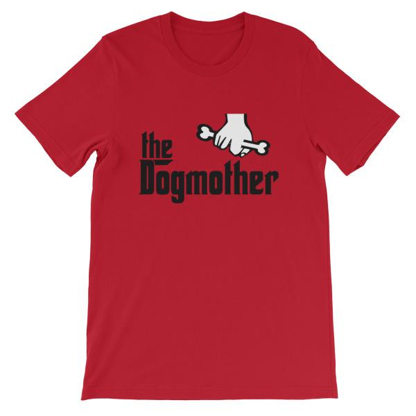 The Dogmother T-shirt-Red-S-Awkward T-Shirts