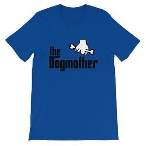 The Dogmother T-shirt-True Royal-S-Awkward T-Shirts