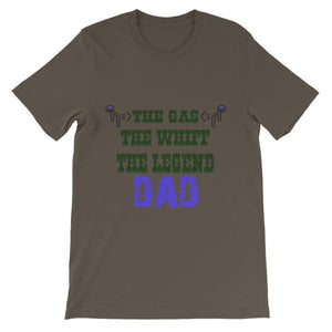 The Gas The Whiff The Legend Dad Fart T-shirt-Army-S-Awkward T-Shirts
