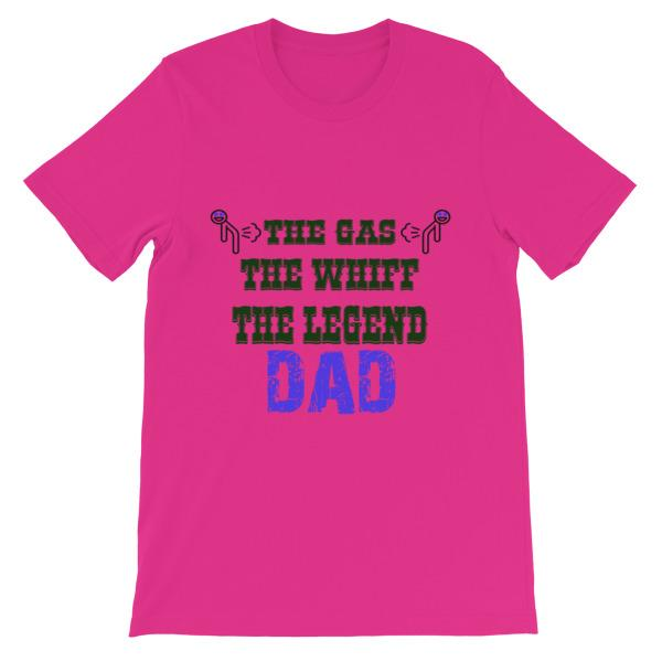 The Gas The Whiff The Legend Dad Fart T-shirt-Berry-S-Awkward T-Shirts