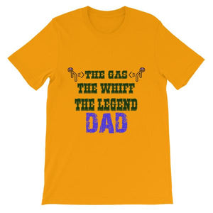 The Gas The Whiff The Legend Dad Fart T-shirt-Gold-S-Awkward T-Shirts