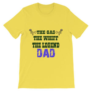 The Gas The Whiff The Legend Dad Fart T-shirt-Yellow-S-Awkward T-Shirts