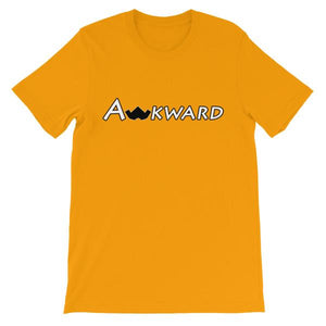 The Original Awkward T-Shirt-Gold-S-Awkward T-Shirts