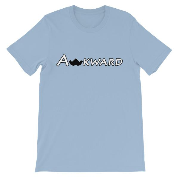 The Original Awkward T-Shirt-Light Blue-S-Awkward T-Shirts