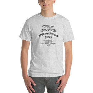 The Truth Will Set You Free Unless You're a Criminal T-Shirt-Ash-S-Awkward T-Shirts