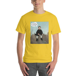 This Rock is Going Right Up My Ass Funny Art T-Shirt-Daisy-S-Awkward T-Shirts