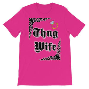 Thug Wife T-shirt-Berry-S-Awkward T-Shirts