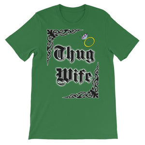 Thug Wife T-shirt-Leaf-S-Awkward T-Shirts