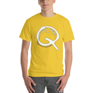 Truth Brought to You by the Letter Q QAnon T-Shirt-Daisy-S-Awkward T-Shirts