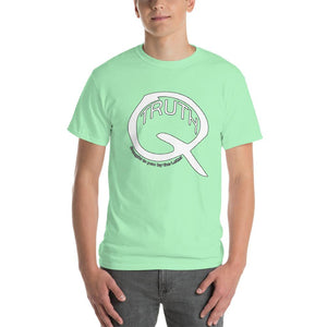 Truth Brought to You by the Letter Q QAnon T-Shirt-Mint Green-S-Awkward T-Shirts
