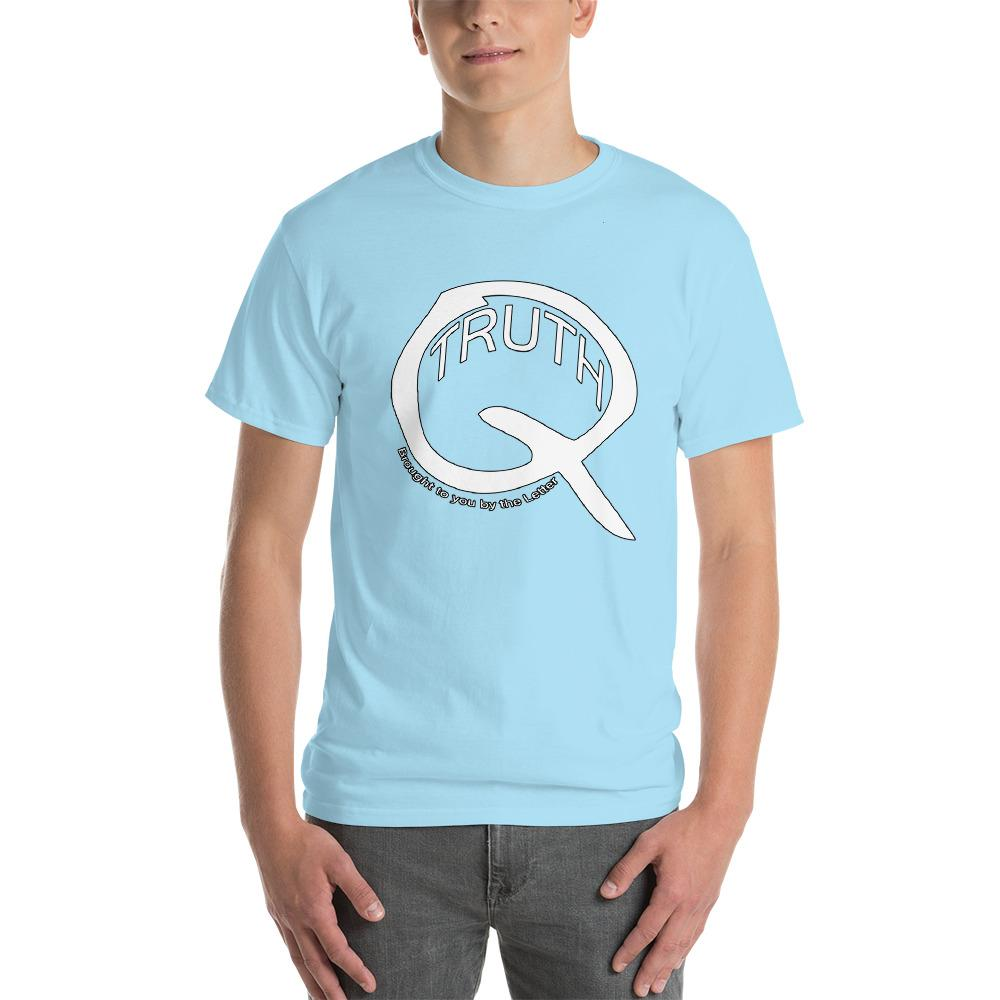 Truth Brought to You by the Letter Q QAnon T-Shirt-Sky-S-Awkward T-Shirts
