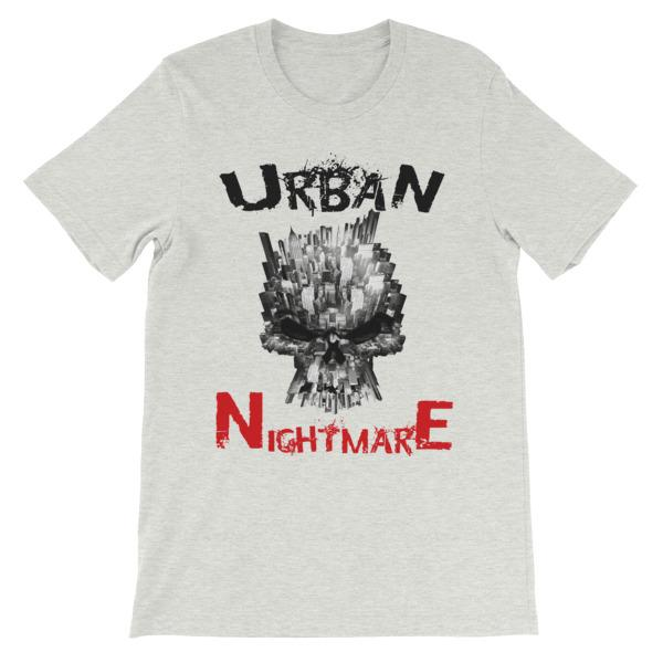 Urban Nightmare T-shirt-Ash-S-Awkward T-Shirts