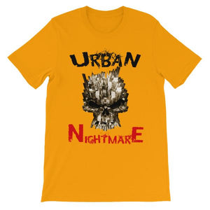 Urban Nightmare T-shirt-Gold-S-Awkward T-Shirts