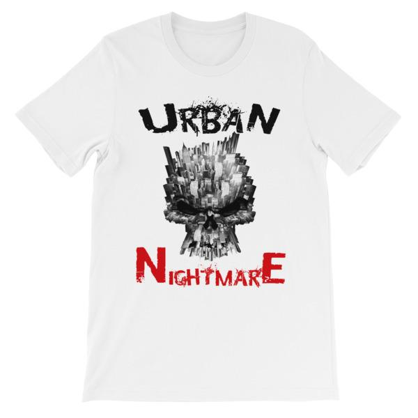 Urban Nightmare T-shirt-White-S-Awkward T-Shirts