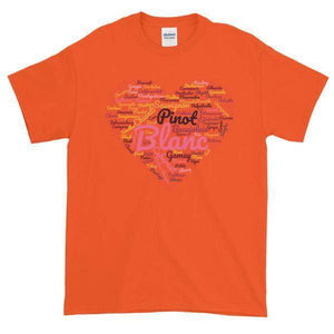 Wine Cloud T-shirt-Orange-S-Awkward T-Shirts