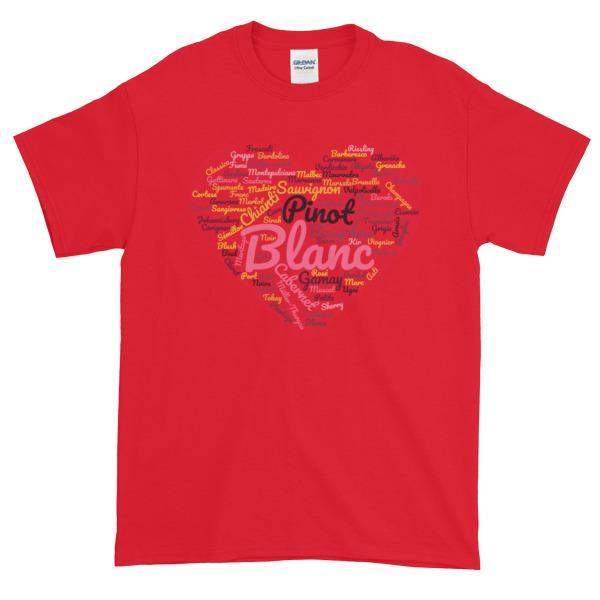 Wine Cloud T-shirt-Red-S-Awkward T-Shirts