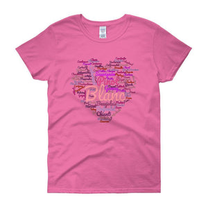 Wine Cloud Wine Lover's Women's T-shirt-Azalea-S-Awkward T-Shirts