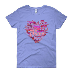 Wine Cloud Wine Lover's Women's T-shirt-Carolina Blue-S-Awkward T-Shirts