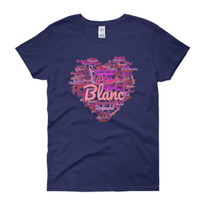 Wine Cloud Wine Lover's Women's T-shirt-Cobalt-S-Awkward T-Shirts