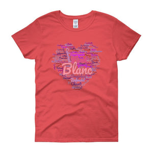 Wine Cloud Wine Lover's Women's T-shirt-Coral Silk-S-Awkward T-Shirts