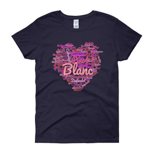 Wine Cloud Wine Lover's Women's T-shirt-Navy-S-Awkward T-Shirts