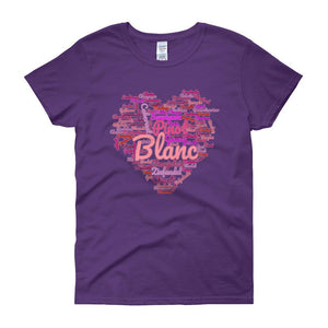 Wine Cloud Wine Lover's Women's T-shirt-Purple-S-Awkward T-Shirts