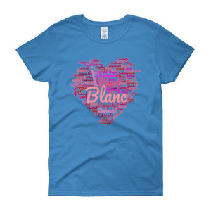 Wine Cloud Wine Lover's Women's T-shirt-Sapphire-S-Awkward T-Shirts