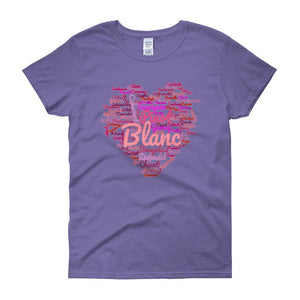 Wine Cloud Wine Lover's Women's T-shirt-Violet-S-Awkward T-Shirts