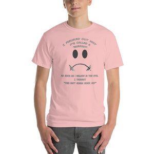 Workout - This Isn't Gonna Work Out Funny Gym T-Shirt-Light Pink-S-Awkward T-Shirts