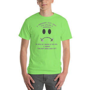 Workout - This Isn't Gonna Work Out Funny Gym T-Shirt-Lime-S-Awkward T-Shirts