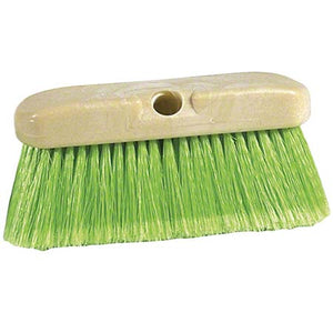 Green Flagged Fill Vehicle Brush - 10""