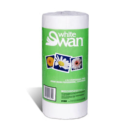 White Swan Kitchen Towel 2 Ply         90 shts/roll    24/cs    #1890