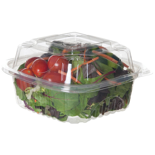 Clear Deli Clamshell   5 3/16 x 5 3/16 x 2 15/16     500/cs
