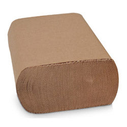 "Prime Source Multifold Towels - Natural 9.4""x9.25"",     4000/case"