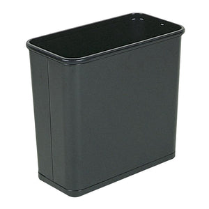 Rubbermaid Fire-Safe Rectangle Wastebasket   7.5L