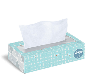 Kleenx Facial Tissue   2 Ply 100/bx 36/cs