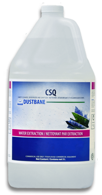 CSQ - carpet cleaner, deodorizer and sanitizer.         5L