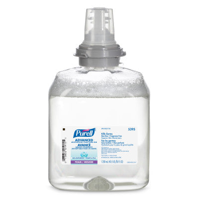PURELL® 5395 Advanced Moisturizing Foam Hand Rub 1200 mL Refill for PURELL® TFX™ Dispenser