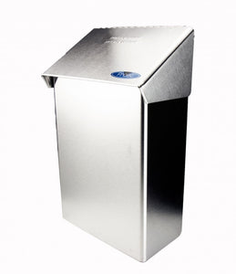 STAINLESS STEEL SURFACE MOUNTED NAPKIN DISPOSAL