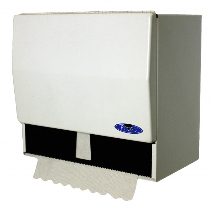 Universal Single Fold Towel Dispenser Frost 101