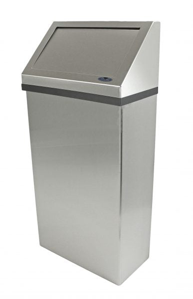 Frost #303-3NL 11 Gal Stainless Waste Bin   (Wall Mounted)