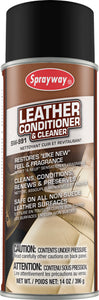 Sprayway Leather Conditioner & Cleaner SW991  20oz can