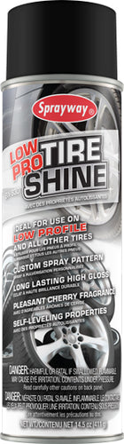 Sprayway Low Pro Tire Shine SW930 20oz can
