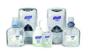 Purell Gel Hand Sanitizer    236ml, 34ml & 1000ml