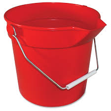 Sanitizer Pail (Red)   6qt & 10qt