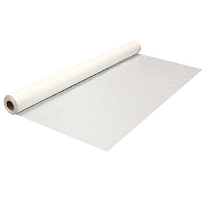 banquet Roll - White Plastic - 40