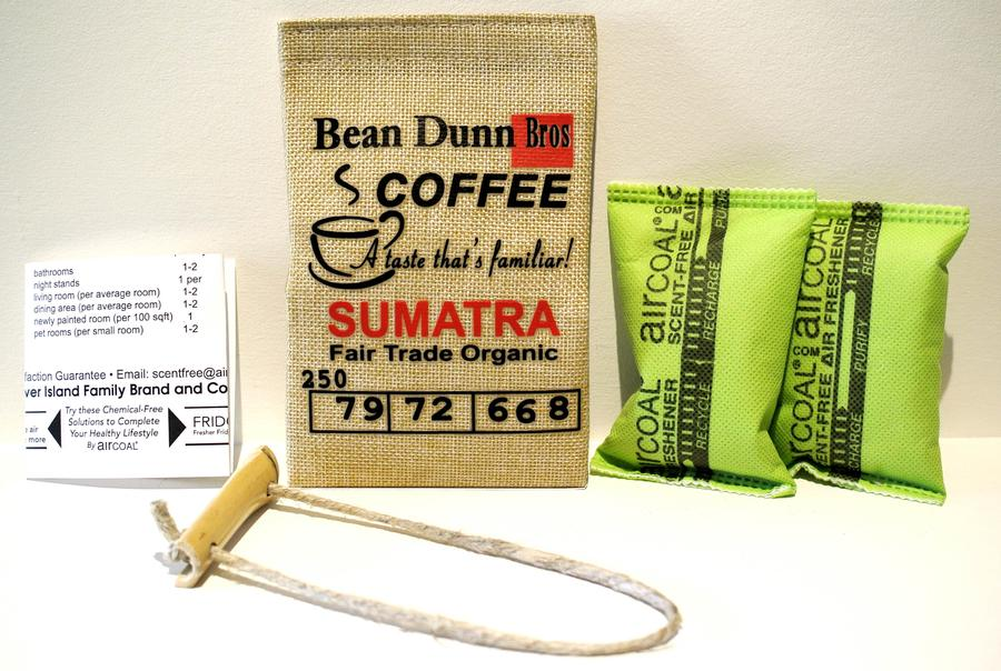 Air Coal Refillable, Multi-Purpose, Jute, Hemp Bag