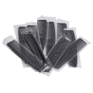 "Black Comb 4 5/8"" Individually-Wrapped in Poly Bag - 144/Box"