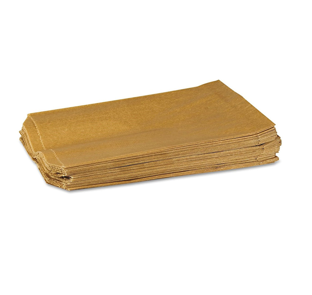 Feminine Hygiene Receptacle Liner, Waxed Brown Paper - 500 / Case