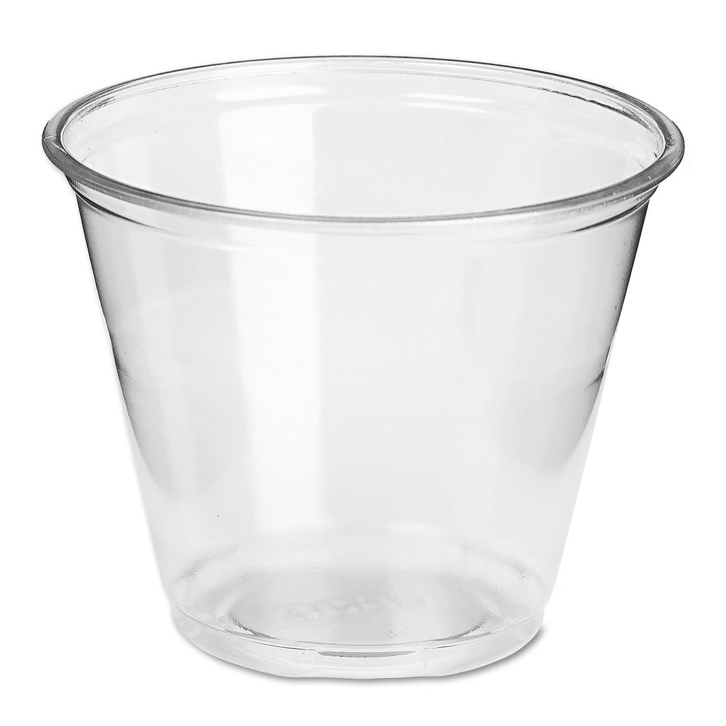 Dixie PETE Cold Plastic Cups, 9 oz.    500/cs